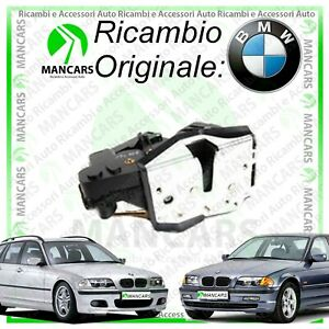 SERRATURA PORTA BMW SERIE 3 E46 ANT. SINISTRA ELETTRICA CHIUSURE CENTRALIZZATE