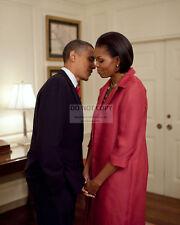 "Barrack Obama /& Michelle Obama 8 x 10/"" PHOTO Licensed 44th President DM1"