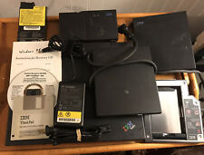 RARE! - IBM ThinkPad 600 Type 2645-51U-224MB-20GB-Windows 95+Many Extras, Works!