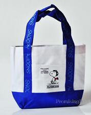 Cute Peanuts Snoopy Women Girl Canvas Food Fruit Shopping Bag Handbag Lunch Bag