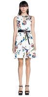 BNWT CUE Floral Cutaway Dress Sz 14 RRP$219