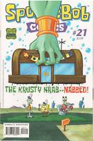 SPONGEBOB COMICS #21 BONGO 1st Print COVER A 1ST  PRINT