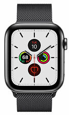 Apple Watch Series 5 44 mm Case with MilaneseLoop - Space Black Stainless Steel (GPS + Cellular) (MWWL2X/A)