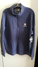 🔥🔥 OFFICIAL HOUSTON ASTROS MLB NEW ERA ZIP PULLOVER MENS LARGE New⚾️⚾️