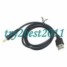 USB-A to DC 5v 4.0mm/1.7mm power adapter cable lead 80cm charger for Sony-PSP