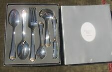 Christian Dior Tableware Gaudron Gold Accent 6 piece Serving Set Stainless Steel