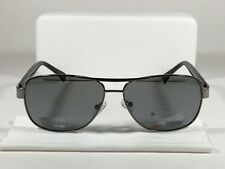 Polaroid Polarized Aviator Pilot Sunglasses Black Ruthenium Gray Lens PLD2005/S