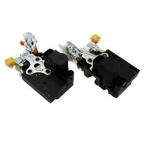 Rear Left & Right Door Lock Actuators 2PCS For Chevrolet Silverado GMC Sierra