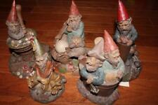Vintage 80s Tom Clark Gnome Figures Alfred Gopher It Herb Potter Cairn Studio