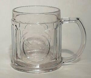 Commemorative Engraved Vintage Glass Tankard Thomas Ramsden Mayor Of Wigan 1939