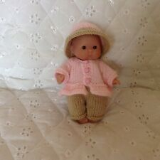 HAND Knitted Bambole Abiti Fit 5ins berenguer doll