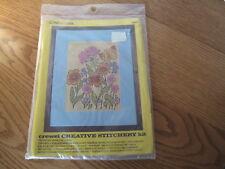 Vintage Crewel Stitchery Kit - Coats & Clark - 5841 - Springtime Floral - NEW