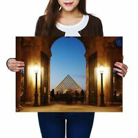 A2 - Awesome Louvre Palace Paris France Poster 59.4X42cm280gsm #8977