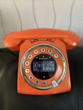 TELEPHONE SAGEMCOM SIXTY LOOK RETRO ORANGE