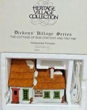 Dept 56 Dickens Village Cottage of Bob Cratchit & Tiny Tim - 65005 Never Display