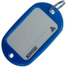 Motel Key Tags 12 Light Blue Plastic KEVRON Tags W/Ring -12pcs-FREE POST