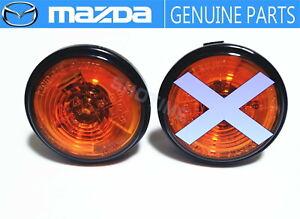 MAZDA GENUINE Roadster MX-5 Miata NA6/8C Fender Side Turn Marker Lamp Light