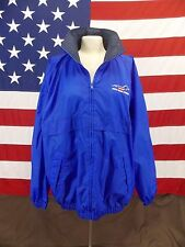 Fort Dodge World Equine Leaders Tri Mountain Jacket Windbreaker Stow A Way Hat M