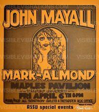 John Mayall Concert Poster Randy Tuten 1973
