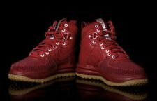 Nike LUNAR FORCE 1 DUCKBOOT Red 805899-600 Men's Size 7.5 | 100% Authentic