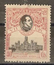 1920 CONGRESO DE LA UPU EDIFIL 305* NUMERACION A,000,000 MUESTRA