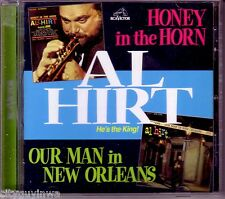 AL HIRT Honey in the Horn/Our Man in New Orleans 1999 2 On 1 CD 60s Jazz Trumpet