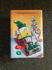 """A Collectible M&M's Gift Tin (Empty) 7"""" x 5"""" x 3"""". In Good Condition to Collect."""