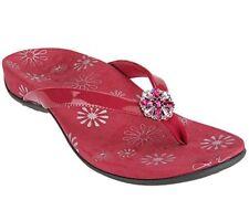 Vionic Sharon Women's Fuchsia Slides Sandal, UK 8 / EU 41 Wide