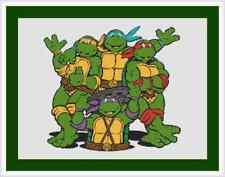 Teenage Mutant Ninja Turtles Cross Stitch Kit