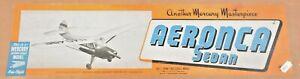 Mercury Aeronca Sedan Replikit balsa aircraft kit like Ben Buckle FREE UK POST