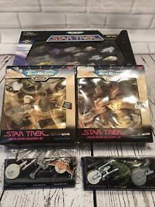 Vintage Star Trek Micro Machines Limited Edition Collectors Series III. + 4 Sets