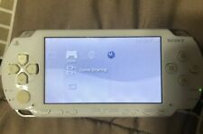 Used PSP PlayStation Portable Ceramic White PSP-1000 w/ LittleBigPlanet
