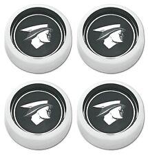 Mercury Head Magnum 500 Wheel Cap Black Set of 4