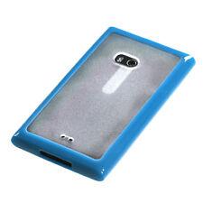 NOKIA LUMIA 900 AT&T GUMMY HYBRID CASE BLUE