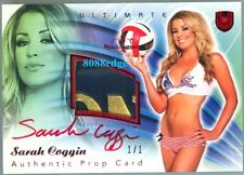 2010 BENCHWARMER ULTIMATE PROP AUTO: SARAH COGGIN #1/1 OF RED INK AUTOGRAPH