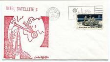 1972 Intelsat 4 Satellite Kennedy Space Center USA NASA Communication Moon