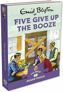 Five give up the Booze. 250 piece Gibsons jigsaw puzzle. New & Sealed