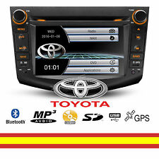 Autorradio para Toyota RAV4 CD DVD GPS Bluetooth MP3 USB SD Soporta Mirroring