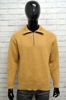 Maglione Uomo LEE Taglia Size XL Maglia Felpa Pullover Sweater Man Lana Regular