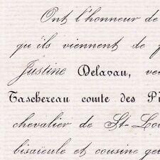 Justine Delavau Pierre Taschereau Des Pictieres 1865