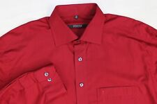 """Eterna Excellent red formal shirt size 15 1/2"""""""