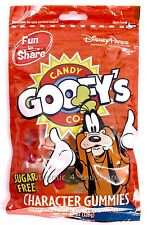 NEW Disney Parks Goofy's Candy Co Sugar Free Character Gummies Family Size Bag