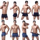 OHA# Mens Sexy Underwear Boxer Briefs Shorts U Convex Bulge Pouch Underpants