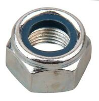 Nyloc Nylon Hex Nuts M3 M4 M5 M6 M8 M10 M12 Stainless Steel A2 x 10