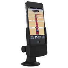 Licensed iPhone 5 5s Handsfree Car Kit Mount Windscreen Vent Charger Waze Tomtom