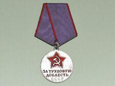 """UdSSR Medaille """"Für ausgezeichnete Arbeit"""" original Silber"""