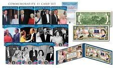QUEEN ELIZABETH II Coronation 65th Anniversary OFFICIAL $2 Bill FREE 11-Card Set