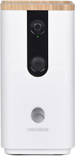 More details for dogness t03wh smart cam treater - app control with camera, microphone and white
