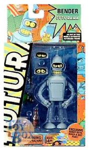 Futurama Bender Avec Partie Du Robot Devil Figurine 15cm PVC Toynami