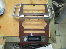 Chrysler Jeep Walnut Front Center Stack & Radio Bezel 2008 - 2010 Grand Cherokee